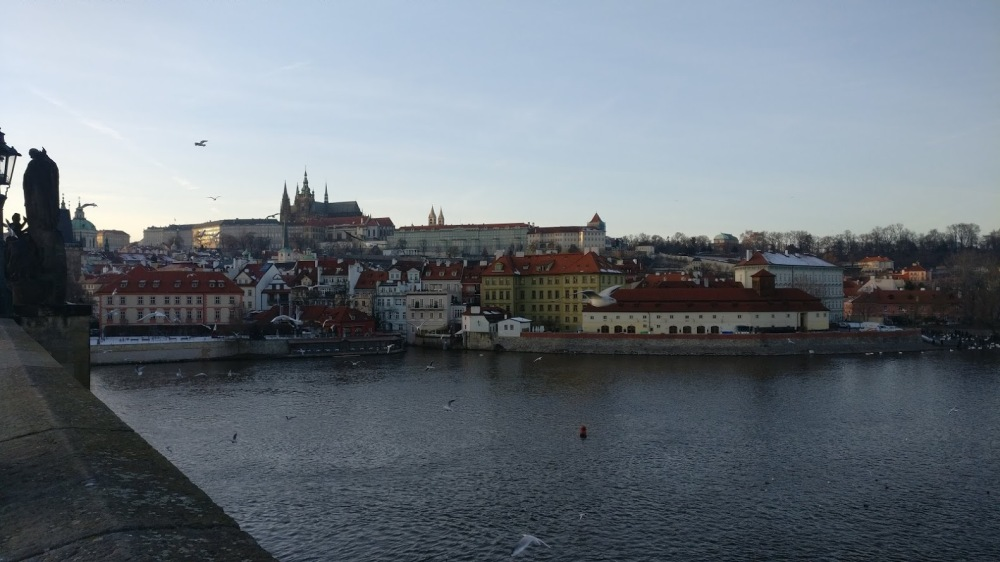 castle from charles bridge